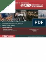 Minerales Contaminantes y Penalizarles en La Comercialización