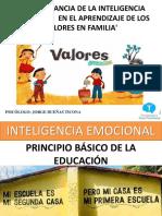 Inteligencia Emocional y Valores