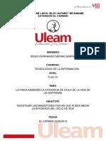Informe Fisica Ciclo Del Sotfware