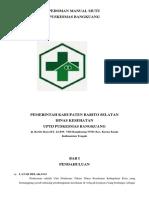 Pedoman Manual Mutu Dokter