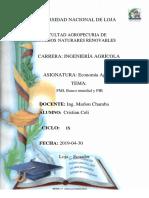 Fondo monetario y PIB.docx