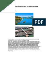 1. Pemanfaatan Perairan Laut Untuk Perikanan