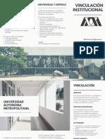 Folleto Vinculación UAM (Aldo)