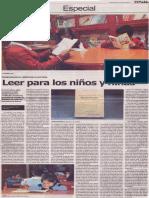 Leer para los niños y niñas, Mario Rommel Arce Espinoza