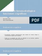9. Evaluación Funciones Cognitivas