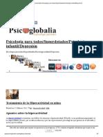 Hiperactividad _ Psicología Para Todos_Superdotados_Psicología Infantil_Depresión
