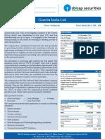 IPO Note- Gravita India Ltd