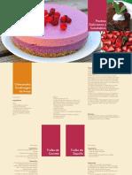 Recetario Postres Deliciosos y Saludables