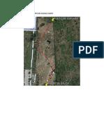 Trazo de Poligono Abierto en Google Earth