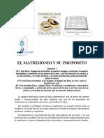 1- El Matrimonio y Su Propósito (2)
