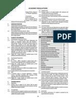 B-Tech Academic Regulations
