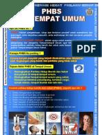 Poster PHBS Di Tempat Umum,Bidang PRL Tahun 2010