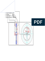 Schematic of -Fly Wheel Outside & Inside Schematic Diameter