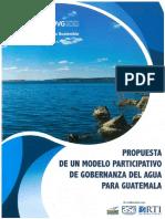 OES_Propuesta de un modelo participativo de gobernanza del agua para Guatemala