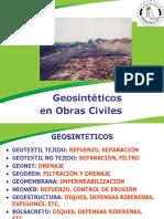 Geosintéticos en Obras Civiles