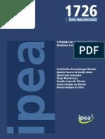 Paraíba no contexto regional IPEA
