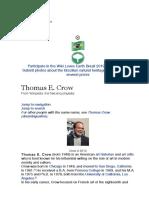 Thomas Crow Notes