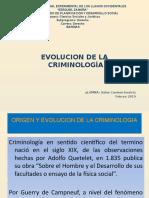La Evolucion de la Criminologia.pptx
