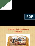 Literatura Dela Colinia y Conquista