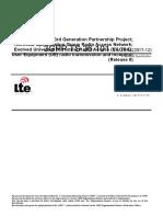 36101-8t0 User Equipment (UE) Radio Transmission and Reception
