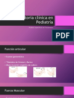 Historia Clínica en Pediatría