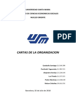 Cartas de Organizacion