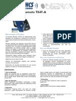 controle remoto TX4T-A da Linear-HCS