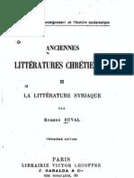 La littérature Syriaque