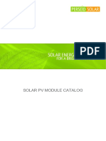 Perseid Solar Products Datasheet