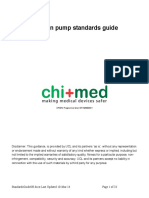 Infusion Pumps Standards Guide