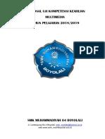 format laporan