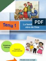 Asamblea 1 La Familia Es Una Obra de Dios