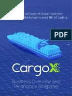 CargoX Business Overview Technology Bluepaper