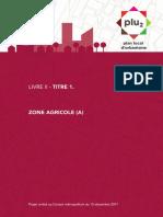 Livre-II Titre 1 Zone-Agricole