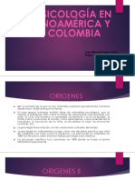 Psicologia en Latinoamerica y Colombia