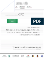 Abordaje de Nodulo Tiroideo No Toxico Gpc