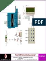 Skematik Thermostat Seting Dg Keypad