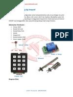 Thermostat Seting Dg Keypad
