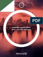 Strategie Montreal Ville Resiliente Fr