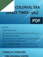 1. Literary Periods