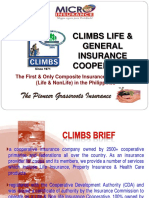 Mr. Fermin Gonzales CLIMBS Life Gen. Insurance Coop