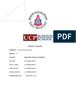 Business Project Report Full and Final