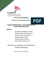 Laboratio de Caraterización y Tratamientos de Aguas Residuales 2