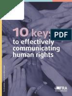 Fra 2018 Effectively Communicating Human Rights Booklet En