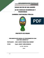 PG-320 Manual de Proc de Audi