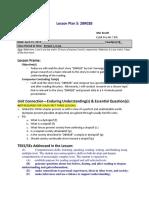 lesson plan 5 - 2br02b