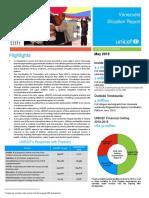 UNICEF Venezuela Humanitarian Situation Report May 2019