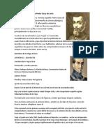 Biografía de Pedro Cieza de León