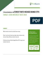 Proshares Interest Rate Hedged Bond Etfs