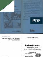 Bartolome, L. Relocalizados. Antropología Social de las poblaciones desplazadas..pdf